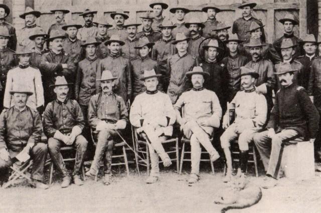 "Roosevelt's ""Rough Riders"""