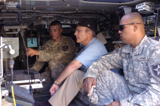 Secretary of the Army Visits Iraq