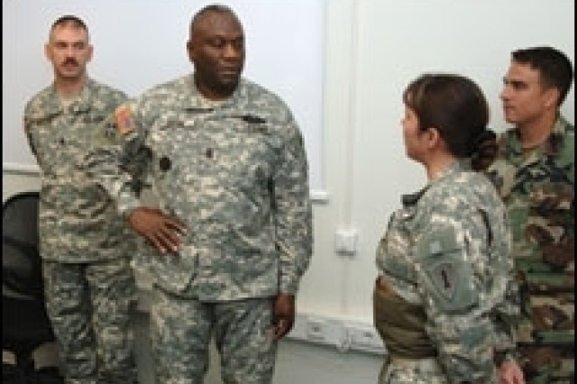 Top Army Reserve NCO Cites Challenges Ahead in Transforming Force