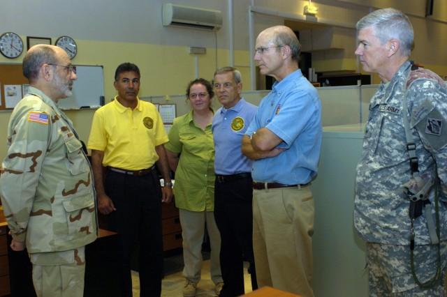 Secretary of the Army visits Iraq
