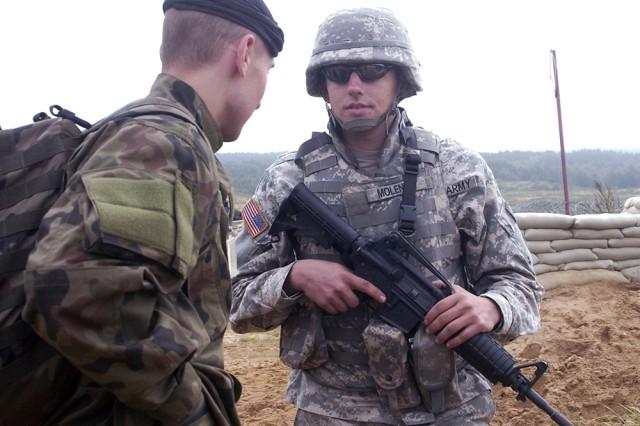 Illinois Guardsman Returns to Polish Home