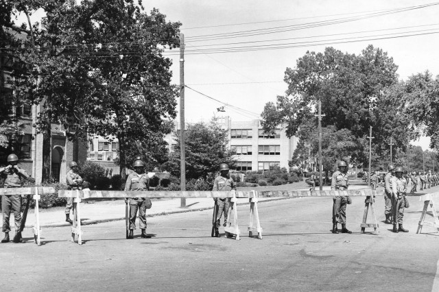 Army Commemorates 1957 Little Rock Deployment, Part Two