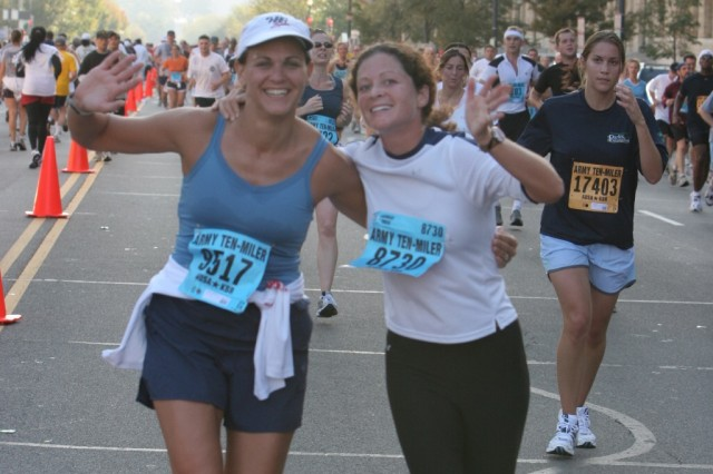 Wives to Run Army Ten-Miler in Honor of Deployed Husbands