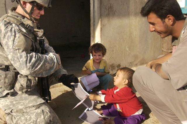 Mingling in Mosul