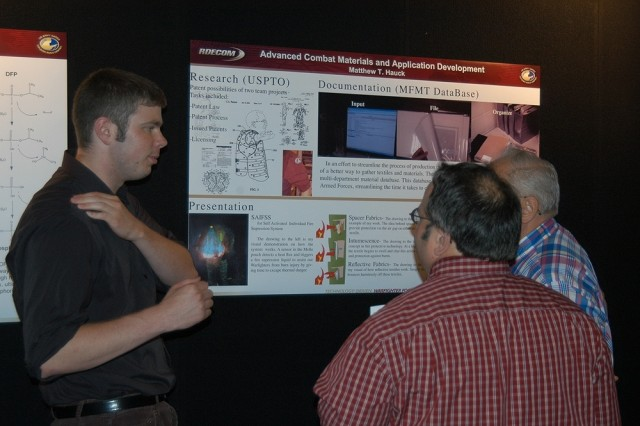 NSRDEC student hires showcase work