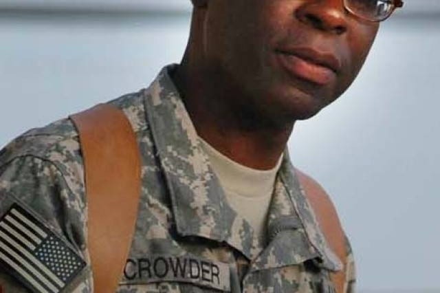 Col. Pat Crowder, upon taking command of U.S. National Command Element (South) in Afghanistan, Sept. 24. Borrowing the words of civil rights leader Dr. Martin Luther King Jr., Col. Crowder was referring to making a difference for the future of Afghans who wish to be free of the extremists' reign of terror.