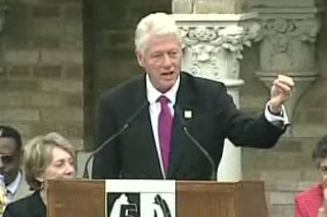 42nd President Bill Clinton