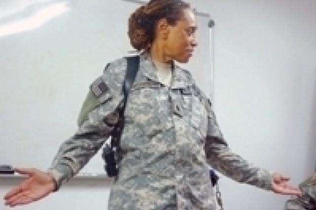 Lt. Col. Hattie Hayes-Cushenberry quote