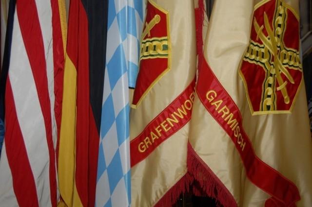 USAG Garmisch, which had been under the authority of USAG Stuttgart since 1994, now falls under USAG Grafenwoehr. Both Grafenwoehr and Garmisch are located in the German state of Bavaria.