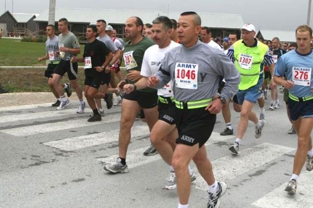 Army 10-Miler in Kosovo