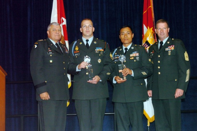 Army Names NCO and Soldier of the Year