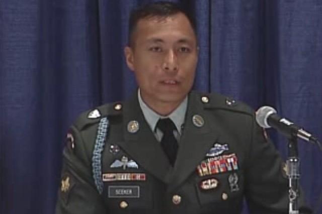 Spc. Heyz Seeker, 2007 Soldier of the Year