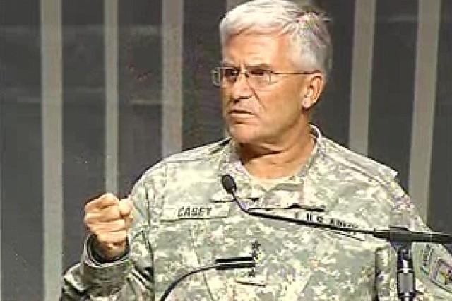 Gen. Casey Addresses 2007 AUSA Convention