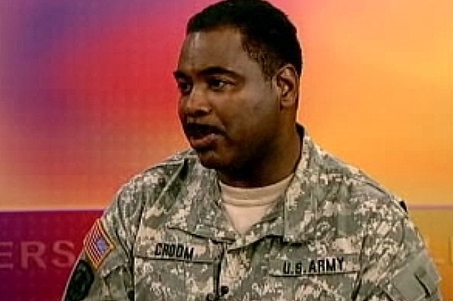 Sgt. Maj. Michael Croom