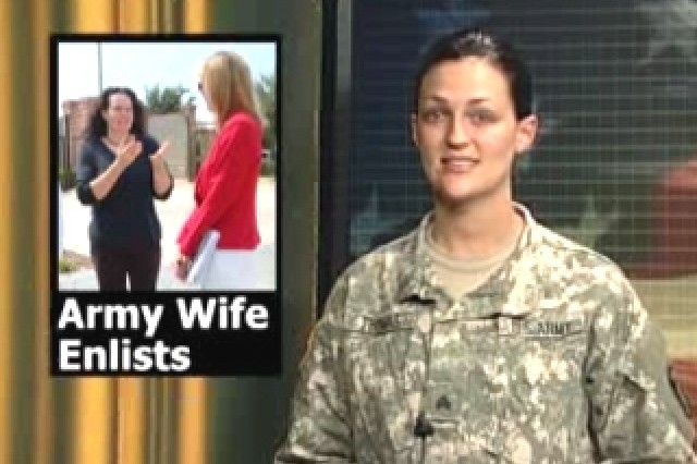 Army Wife Enlists