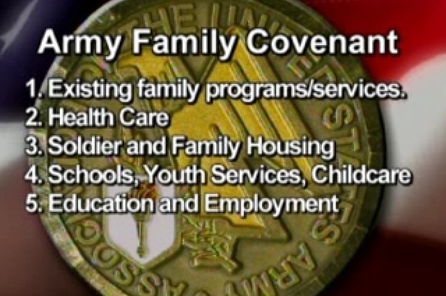 Army Family Covenant Slide