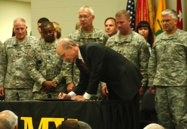 Family Covenant Signing