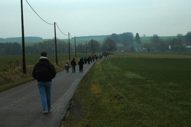More than 3,000 walkers participated in last year's Bastogne Historical Walk, which highlights a different sector of the Battle of the Bulge every year.
