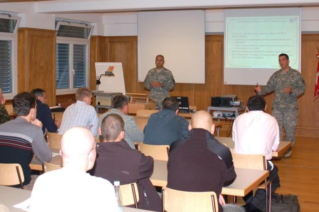 Strengthening the International Military Backbone