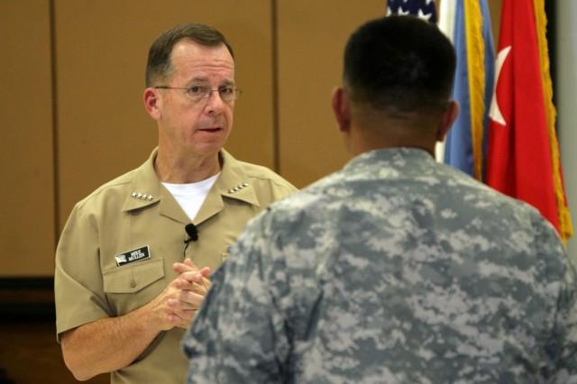 JCS Chairman visits Fort Sill