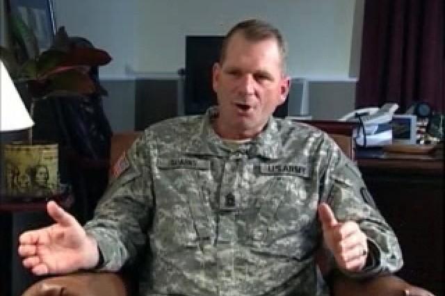CSM John Sparks, TRADOC Command Sgt. Maj.