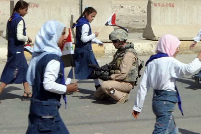 Ramadi Unity Parade Marks Key Event in Iraqi Reconciliation