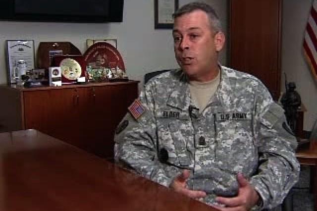 Command Sgt. Maj. Elder