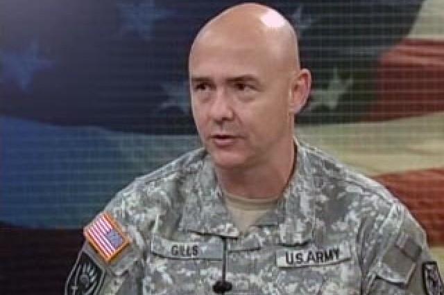 Sgt. Maj. Tom Gills, Human Resources Command