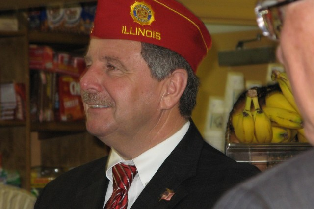 American Legion Commander Visits Walter Reed