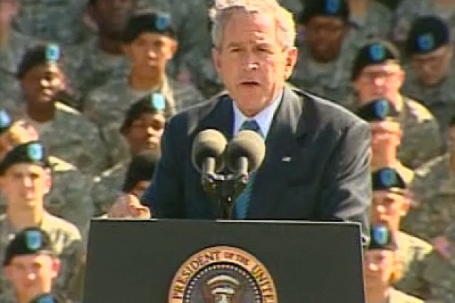 Presidential Remarks at Fort Jackson