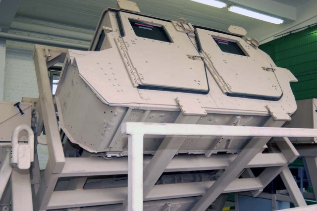 The HMMWV (High Mobility Multipurpose Wheeled Vehicle) Egress Assistance Trainer is the newest addition to the Kaiserslautern military community. It is a training device that allows Soldiers to practice a variety of egress techniques from a flipped Humvee at different angles.