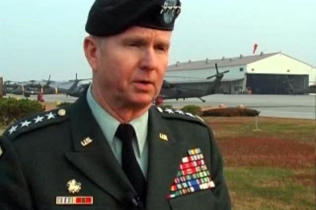 Gen. B.B. Bell, Commander, U.S. Forces Korea