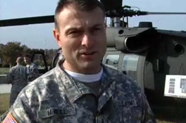 Chief Warrant Officer (CW4) Gene McNeill, Black Hawk Pilot
