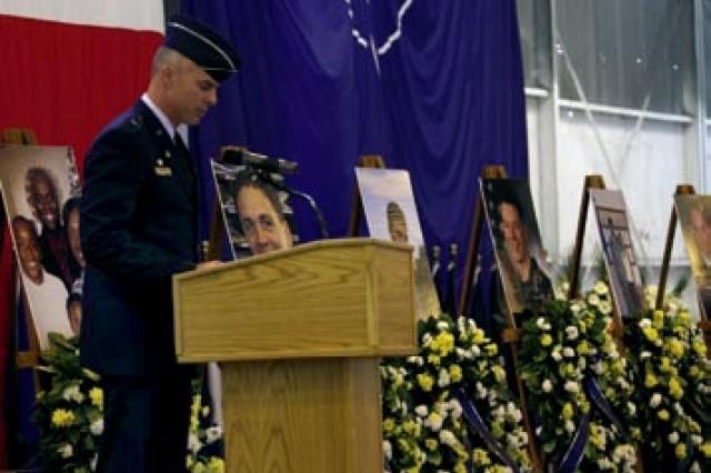 Aviano memorial service salutes six service members killed in Black Hawk crash