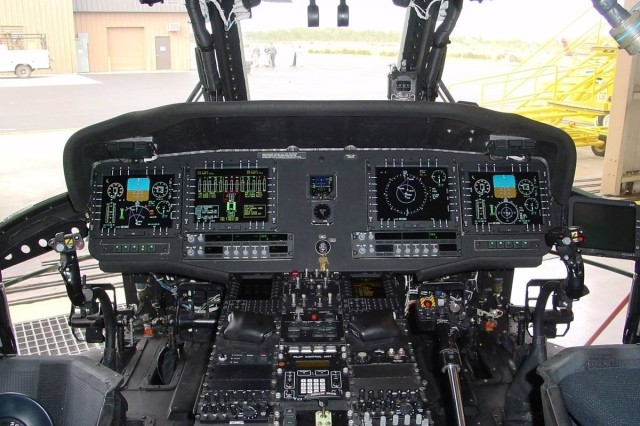 A major change from the 25-year old UH-60L model Black Hawk is the all digital avionics suite which allows pilots to perform safer and more efficiently on-the-fly.
