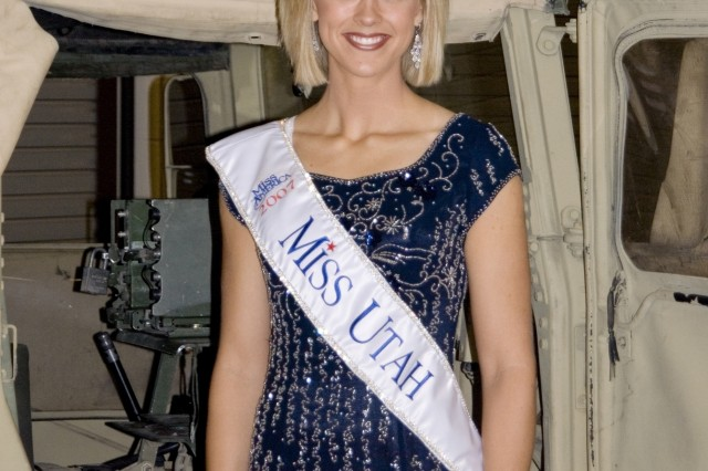 Sgt. Jill Stevens of the Utah National Guard is a top contender for the 2008 Miss America competition, which takes place Jan. 26. Catch print and video coverage of Sgt. Stevens' journey through pageantry and the Army's ranks at