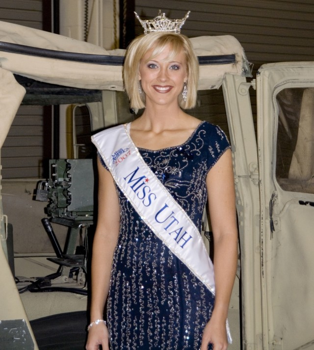 Army Medic Takes Shot at Miss America