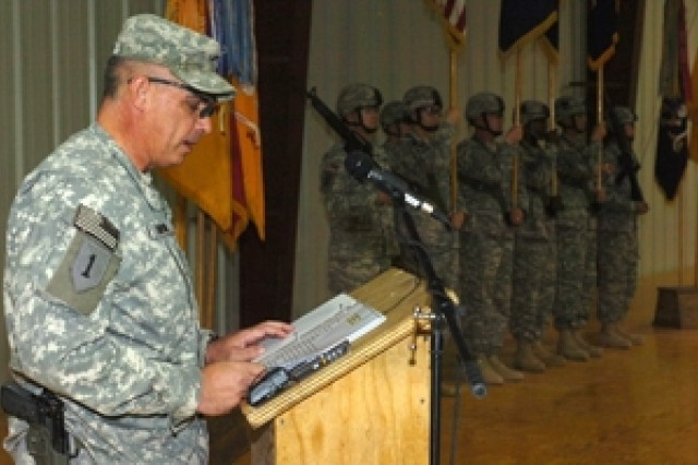 U.S. Army Europe's 'Dagger' Brigade Passes Mission in Iraq to 101st Airborne Division