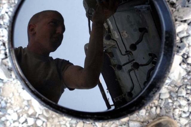 Oil Pan Reflection