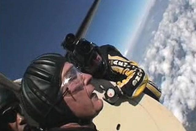 President George H.W. Bush Tandem Jump
