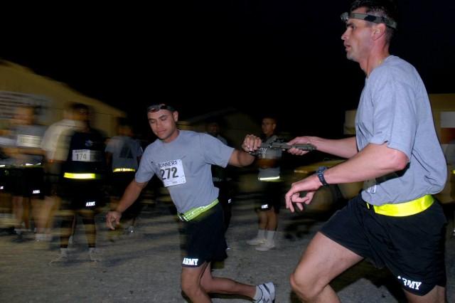 U.S. Army Europe Soldiers in Afghanistan Run 24-Hour Race in Honor of Comrades who Died in Vietnam