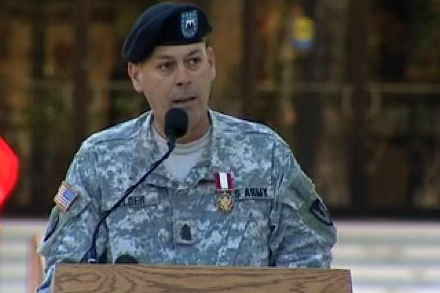 Command Sgt. Maj. Daniel K. Elder