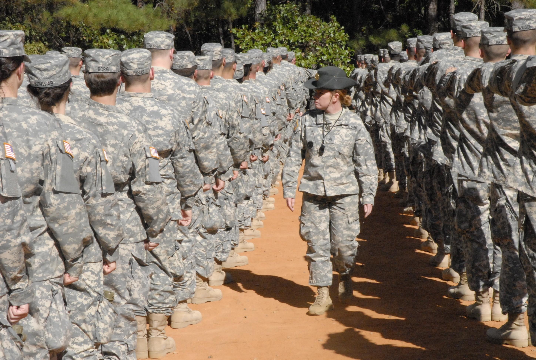 Military women seeking civilian men