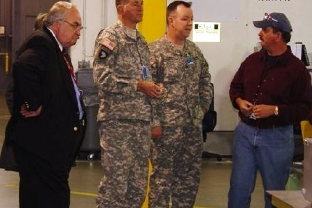 Brig. Gen. Rogers Visits LEMC
