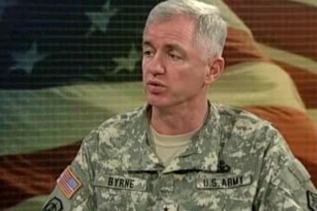 Maj. Gen. Sean Byrne