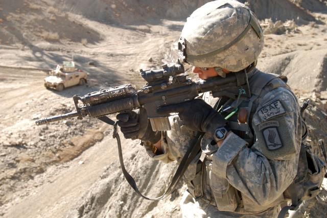 Soldiers Help Afghan People