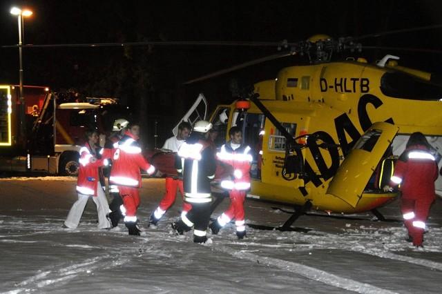 Garmisch Helps Medevac Seriously Injured Child