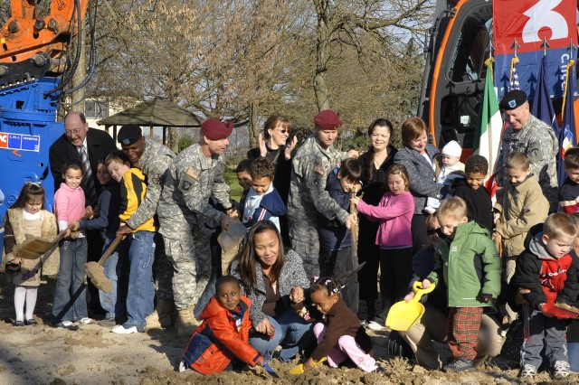 USAG Vicenza Breaks Ground for New Schools, Childcare Facilities