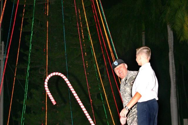 USARPAC Lights Up Holiday Season