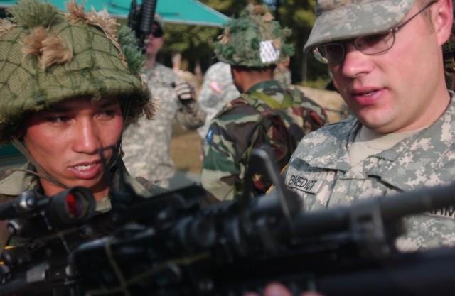 Ghurka Training on M203